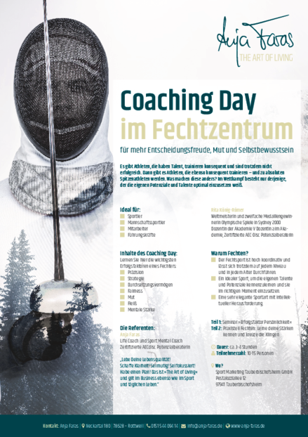 Coaching Day im Fechtzentrum